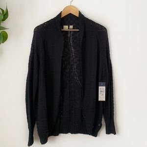 NEW Roxy Let's Go Anywhere Cardigan Sweater